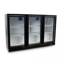 Frigo-de-bar-professionnel-100-skinplate-noir-3-portes-vitres-330-litres-230v-neuf-equipementpro