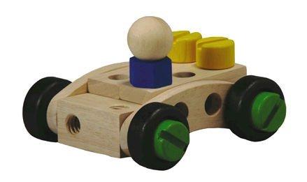 Plan toys 5533 jouet en bois 30 construction set amazon - Construire des jouets en bois gratuit ...