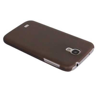 Vandot For Samsung Galaxy S4 / I9500 Ultra Slim Case 0.2 Mm Thin Transparent Schwarz Premium [Ultra Fit] - (Protective / Matte / Hard / Shell / Cover / Bumper / Clear For Siv) front-845566