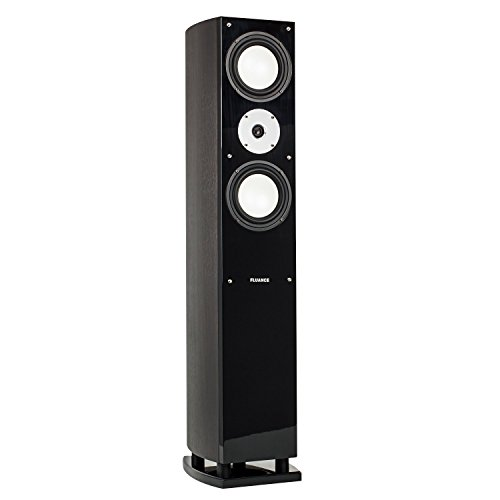 Buy Fluance XL7F High Performance Three-way Floorstanding Loudspeakers (Dark Walnut Single)