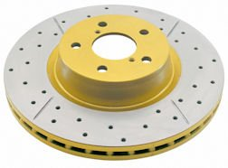 DBA 655X Rear Drilled and Slotted Street Series Brake Rotor