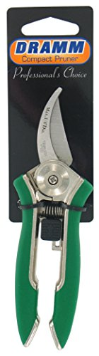 Dramm 18014 Stainless Steel Compact Pruner, Green