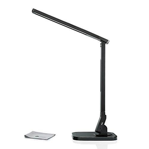 taotronics elune tt dl01 dimmable led desk lamp 5 level dimmer touch. Black Bedroom Furniture Sets. Home Design Ideas