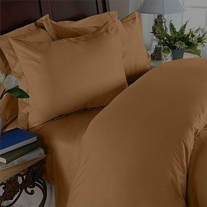 Fantastic Deal! 1500 Thread Count Queen 4pc Bed Sheet Set Egyptian, Deep Pocket Deep Pocket, Mocha C...