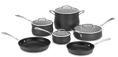 Cuisinart 64-10N Contour Hard Anodized 10-Piece Cookware Set