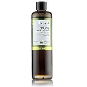 Fushi Avocado Organic Oil 100ml Extra Virgin, Biodynamic Harvested Cold Pressed