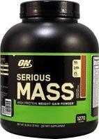 Optimum Nutrition  Serious Mass Diet Supplement, Chocolate Peanut Butter, 6 Pound