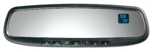 Gentex 50Admcthg Auto-Dimming Rear View Mirror System With Compass, Temperature And Homelink