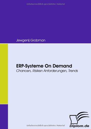 Buchcover: ERP-Systeme On Demand. Chancen, Risiken, Anforderungen, Trends