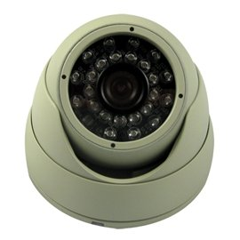 New Vonnic Camera C504w 1/3inch Ccd Outdoor Night 480tvl 75ft Nightvision White Retail