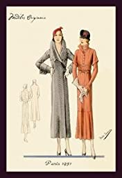 Paper poster printed on 20 x 30 stock. Fashions for Urban Ladies
