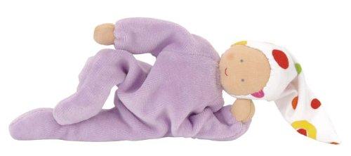 "Kathe Kruse 74191 ""Nicki"" Baby Violet front-950649"