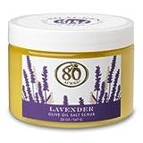 80 Acres Lavender Salt Scrub - 18 oz