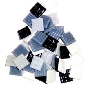 Mosaik-Stein-Set 1x1cm 200g Moonlight-Mix