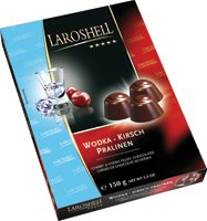 Laroshell Vodka Cherry Pralinen 150g
