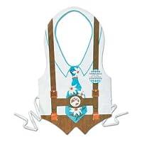 Pkgd Plastic Oktoberfest Vest Party Accessory (1 count) (1/Pkg) by Beistle
