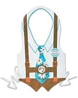 Pkgd Plastic Oktoberfest Vest Party Accessory (1 count) (1/Pkg)
