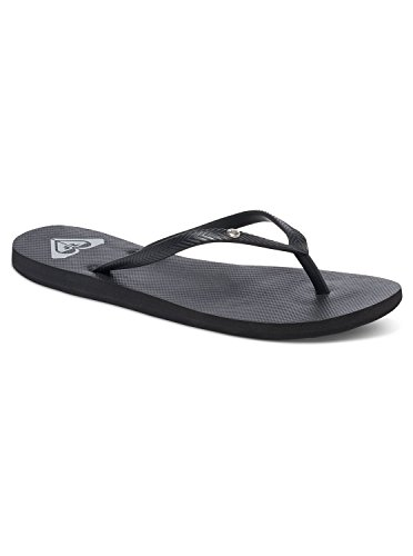 Roxy Women's Bermuda Sandal Flip Flop Black Wash, 7 M US