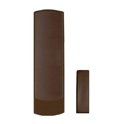 Contatto magnetico via radio per porte e finestre PARADOX.Colore marrone.