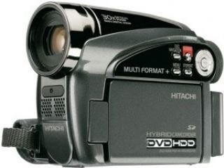 Hitachi DZHS500EUK Hybrid DVD + HDD Camcorder (30x Optical and 1500 x Digital Zoom) 2.7