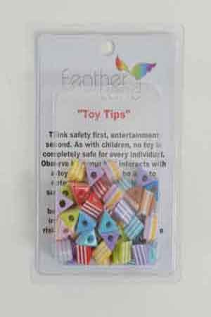 Cheap FeatherLand 1/2″ Plastic Triangle Bead (B008MTJQHO)