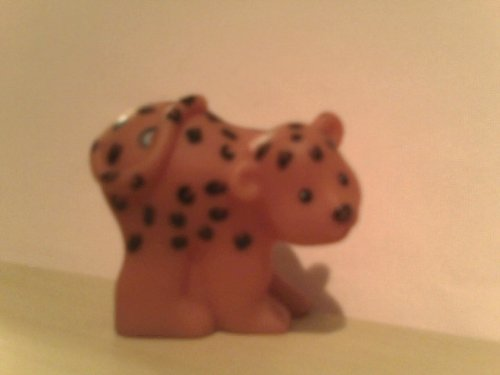 Little People Cat (Cheetah, Jaguar) 2007 Mattel Replacement Figure - Fisher Price Zoo Doll Circus Ark Toy Pet Shop - 1