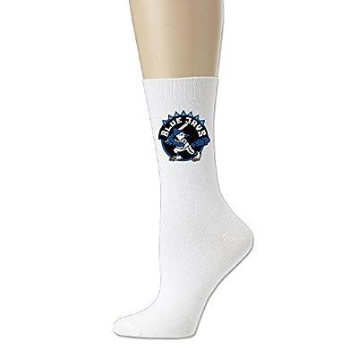 Major League Baseball Toronto Blue Jays Crew Socks For Men And Women White