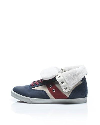 Timberland Sneaker Alta [Blu]