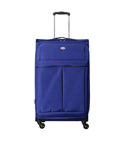 "American Flyer Simply Lite! 28"" Lightweight Check-In Spinner, Blue"