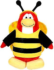 Buy Low Price Jakks Pacific Disney Club Penguin 6.5 Inch Series 3 Plush Figure Bumble Bee (Includes Coin with Code!) (B002GQ2ZKE)