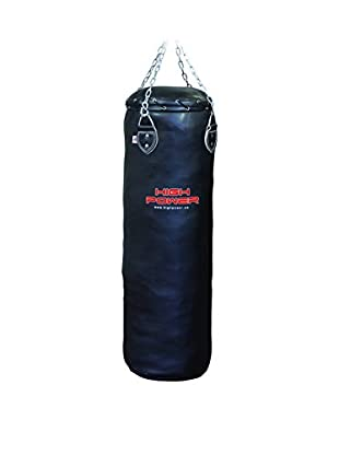 High Muster Saco de Boxeo Training 40 kg Negro