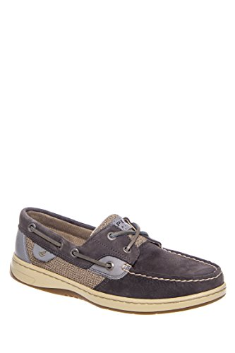 Blue Fish Washable Casual Laceup Boat Shoe