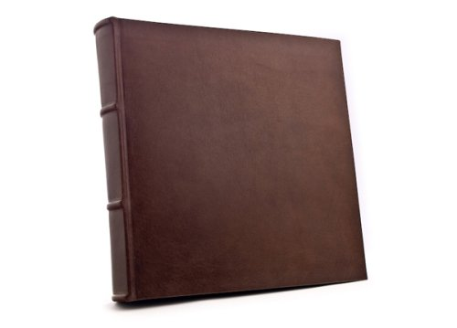 Epica s World Famous 14X14 Inch Handmade Italian Distressed Leather Bound Photo Album Wedding Album  WeddingB00019H5W6
