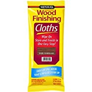 Minwax308240000Minwax Wood Stain & Finish Wipes-DK MAHOGANY STAIN CLOTH
