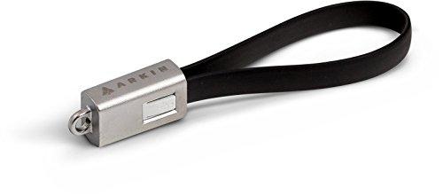 arkin-chargeloop-schlusselanhanger-usb-20-ladekabel-datenkabel-micro-usb-flachkabel-furs-smartphone-