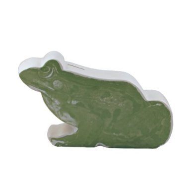 Streamline Pictorial Frog Coin Bank