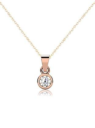 Friendly Diamonds Conjunto de cadena y colgante FDP6241R Oro Rosa