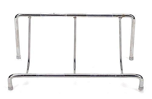 dasein-1-tier-clutch-purse-handbag-wallet-metal-display-stand-rack-golden-silve-black-silver-by-7zac