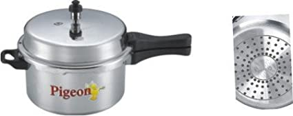 Pigeon 118 Calida Aluminium 7.5 L Pressure Cooker (Induction Base)