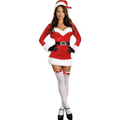 Women's Sexy Costume: Santa Baby- Extra Large (Pack Of 1)