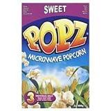 Popz Microwave Sweet Popcorn 3 X 100G