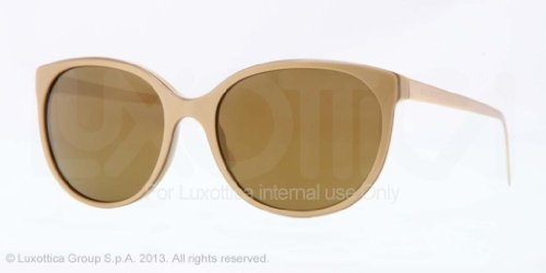 Burberry  Burberry 4146 34325A Gold 4146 Spark Round Sunglasses Lens Category 3 Lens Mirr