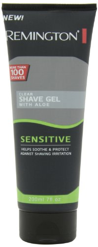 Remington Products Men'S Sensitive Shave Gel, 7 Ounce
