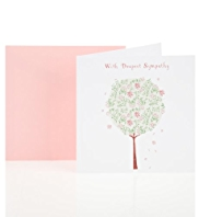 Sympathy Tree Greetings Card