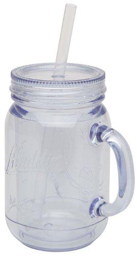 Aladdin 31843 doppelwandiger Trinkbecher mit Henkel, 0.47 Liter