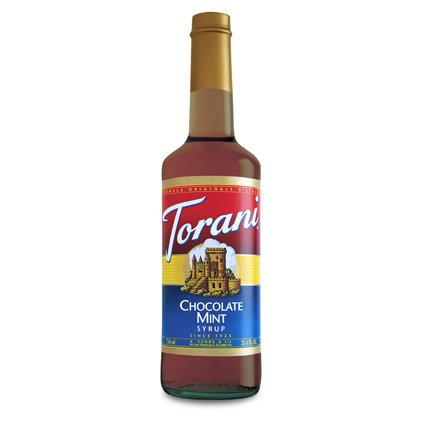Torani Chocolate Mint Syrup (1 Single 750 Ml Bottle)