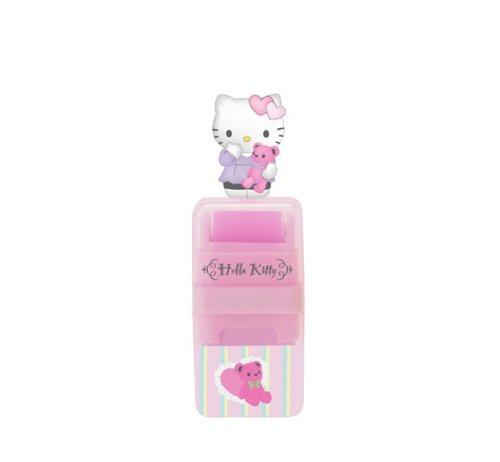 Hello Kitty Eraser w/Mascot: Bear