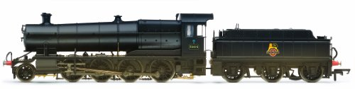 hornby-r3006x-br-2-8-0-3864-3800-class-late-br-weathered-00-gauge-dcc-fitted-steam-locomotive