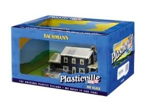 House Under Construction Plasticville Built-Up Building HO Scale