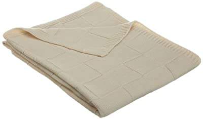 Natural Organic Cotton Knit Baby Blanket from American Baby Company